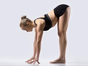 Halber Vorwärts-Stretch