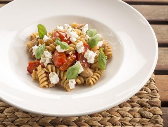 Pâtes avec ricotta et tomates - Hop Hop Hypertension