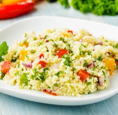Sommer Coucous Salat