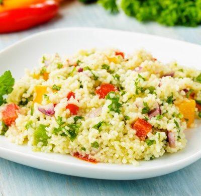 Salade de couscous estivale