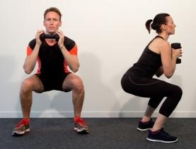 Flexion avec haltères