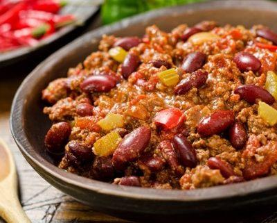 Bœuf haché & Bean Chili Verde