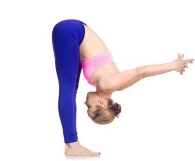 Flexion avant debout