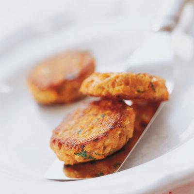 Karotten-Nuss-Burger