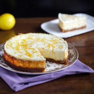 Cheescake au citron