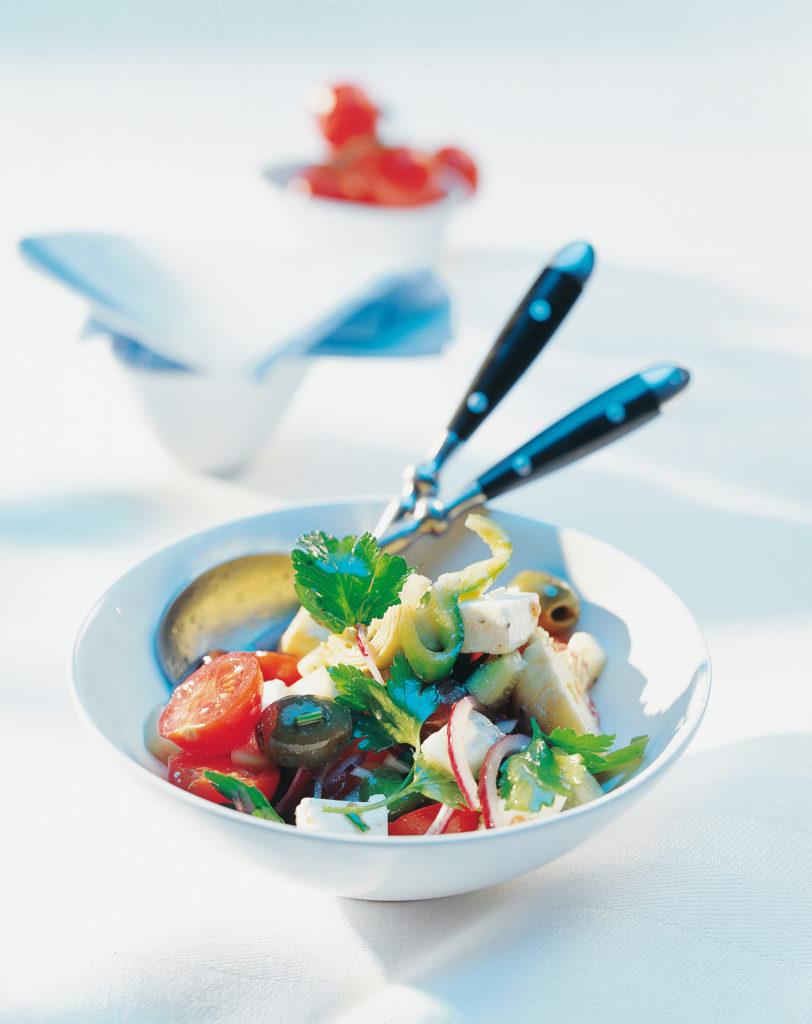 Salade paysanne à la feta